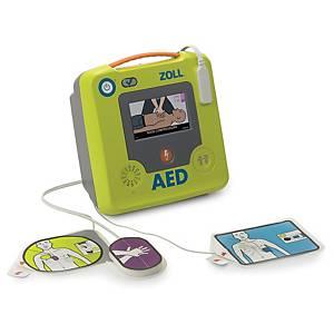 Defibrillatore AED 3, Display a colori LCD, manuale in italiano