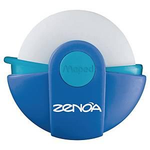 Gomme Maped Zenoa, pour crayon, sans PVC, dans une housse rotative, la pièce