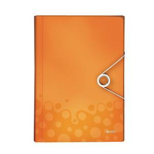 Leitz WOW Project File PP A4 Orange