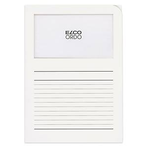 Dossier d organisation Elco Ordo Classico 29489, imprimé, blanc,100unités