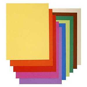 Exacompta Flash recycled folders 80g/m² assorted - pack of 100