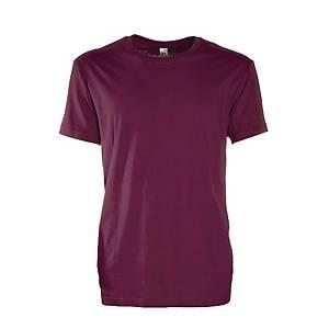 T-shirt bordeaux tg 3XL