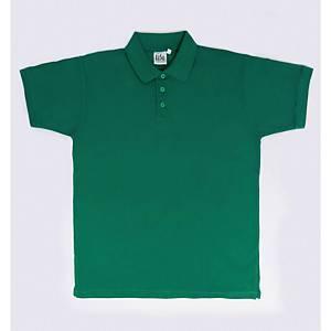 Polo maniche corte verde smeraldo tg XL