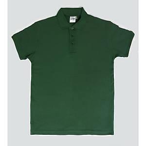 Polo maniche corte verde tg L