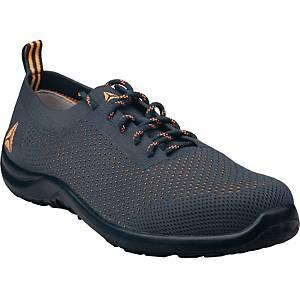 Bezpečnostná obuv Deltaplus Summer, S1P SRC, veľkosť 43, sivá