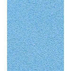 Folia velourspapier, 50 x 70 cm, blauw, per pak van 10 vellen