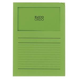 Organisationsmappe Elco Ordo Classico 29489, bedr., intensivgrün,Pk. à 100 Stk.