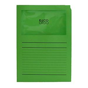 Elco 420504 Ordo window folder green - box of 100