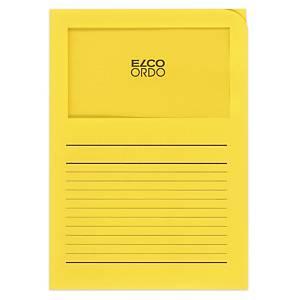 Dossier d organisation Elco Ordo Classico 29489, impr., jaune vif,100unités