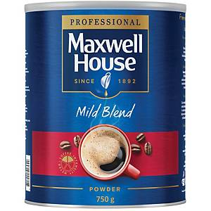Maxwell House Mild Blend Coffee 750G Tin