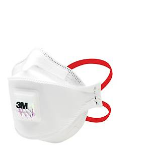 3M Aura 9332+Gen3 FFP3 Disposable Respirator Masks With Valve - Pack Of 10