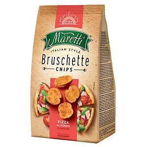 Maretti Bruschette Bissen , Pizzageschmack, 70 g