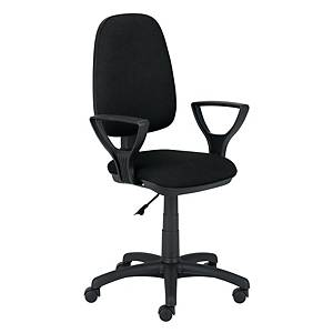 Krzesło LOCKER, czarne