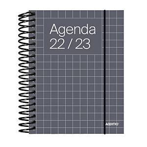 Agenda Universal ADDITIO semana vista colores surtidos ref. A142-SV