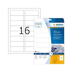 Étiquettes pour nom Herma, A4, blanc