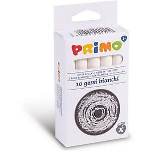 Kreide Primo, weiss, Packung à 10 Stück