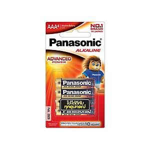 PANASONIC Lr03T/4B AAA Alkaline Battery Pack Of 4