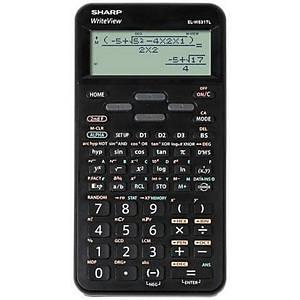Vědecká kalkulačka Sharp ELW531TL, 96 × 32 bodový LCD displej, černá