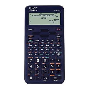 SHARP ELW531TL scientific calculator, blue