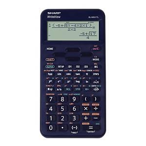 Vědecká kalkulačka Sharp ELW531TL, 96 × 32 bodový LCD displej, modrá