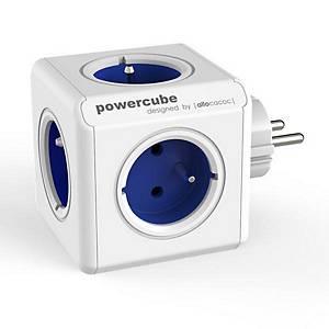 ALLOCACOC POWERCUBE rozbočovací zásuvka, modrá