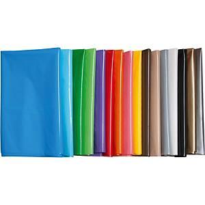Pack de 25 bolsas de plástico - 56 x 70 cm - naranja