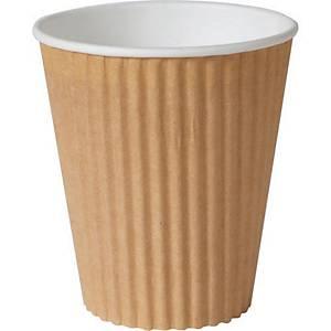 Gobelet compostable Duni ecoecho™, 3 parois, 35 cl, le paquet 30 gobelets