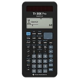 Calculatrice scientifique TEXAS TI-30X Pro Mathprint