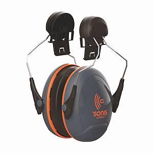 Kapselgehörschutz JSP SONIS C, für EVO3 Helme, 32dB, schwarz/rot
