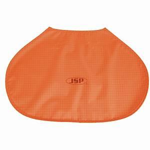 UV-Nackenschutz JSP, AHV150, für EVO Helm-Serie, warnorange