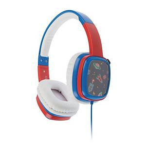 Headset Kitsound MiniMovers, blå
