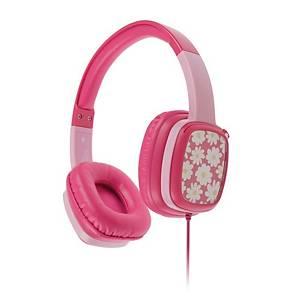 Headset Kitsound MiniMovers, pink