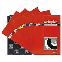 Pacote de 10 folhas de papel químico Grafoplás - 210 x 330 mm