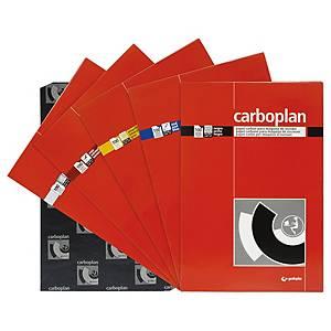 Paquete de 10 hojas de papel carbón Grafoplás - 210 x 330 mm