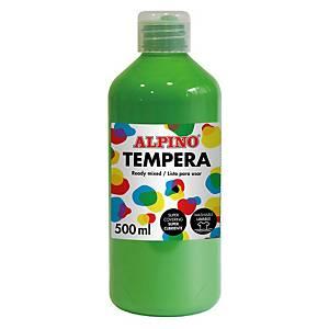 Tempera líquida 500ml ALPINO verde