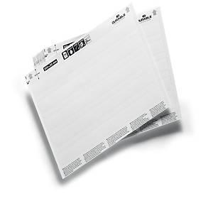 /Fogli A5 per inserti di ricambio Durable in cartonicino 20 x 2 cm - conf. 20