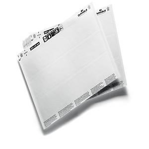 /Fogli A5 per inserti di ricambio Durable in cartonicino 20 x 4 cm - conf.20