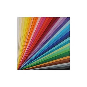 Pack de 25 cartulinas Iris 50X65 - 185g/m2 - oro metalizado