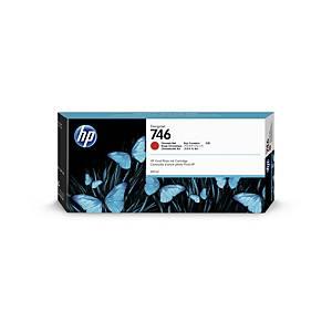 Blækpatron HP 746 P2V81A, 300 ml, rød