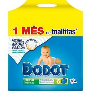 PK383 TOALLITAS HUMEDAS DODOT