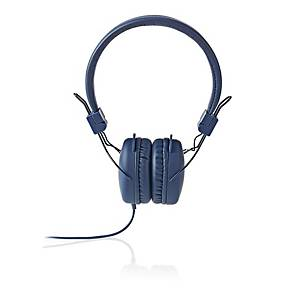 Hörlurar Nedis Streetline, blå, med sladd