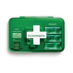 Plåsterautomat Cederroth Wound Care Dispenser, blå