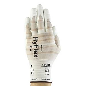 Ansell 11-812 Hyflex Glove Pair 7 White - Pack Of 12
