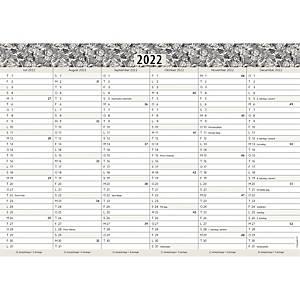 Kalender Mayland 8590 00, 2 x 6 måneder, 2020/21, A4