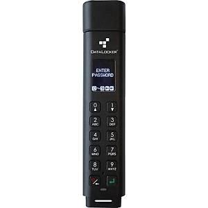 Clé USB sécurisée DataLocker Sentry K300 - USB 3.1 - 256 Go - noire