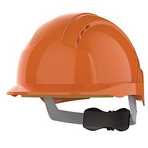 Schutzhelm JSP Evolite, Einstellbereich 53-64cm, orange