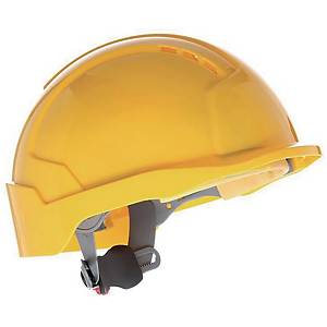 Casque de sécurité JSP EvoLite CR2 avec support pour badge, orange
