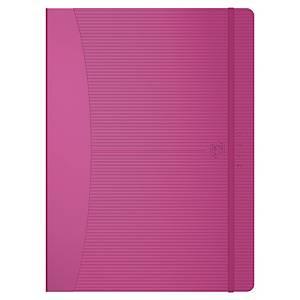 Agenda semainier Oxford Signature - 2020 - 18 x 25 cm - rose