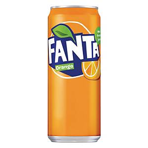 PK20 FANTA ORANGE CAN 33CL