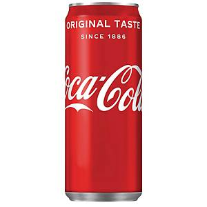 BOX OF 20 CANS COCA-COLA 33CL